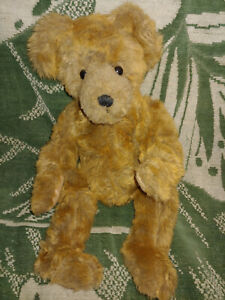 Ganz Cottage Collectibles 14 Dieter Jointed Plush Bear Beautiful Condition Ebay
