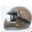 miniature 14 - Vintage Full Face Motorcycle Helmet Deluxe Leather Street Bike Cruiser Helmet