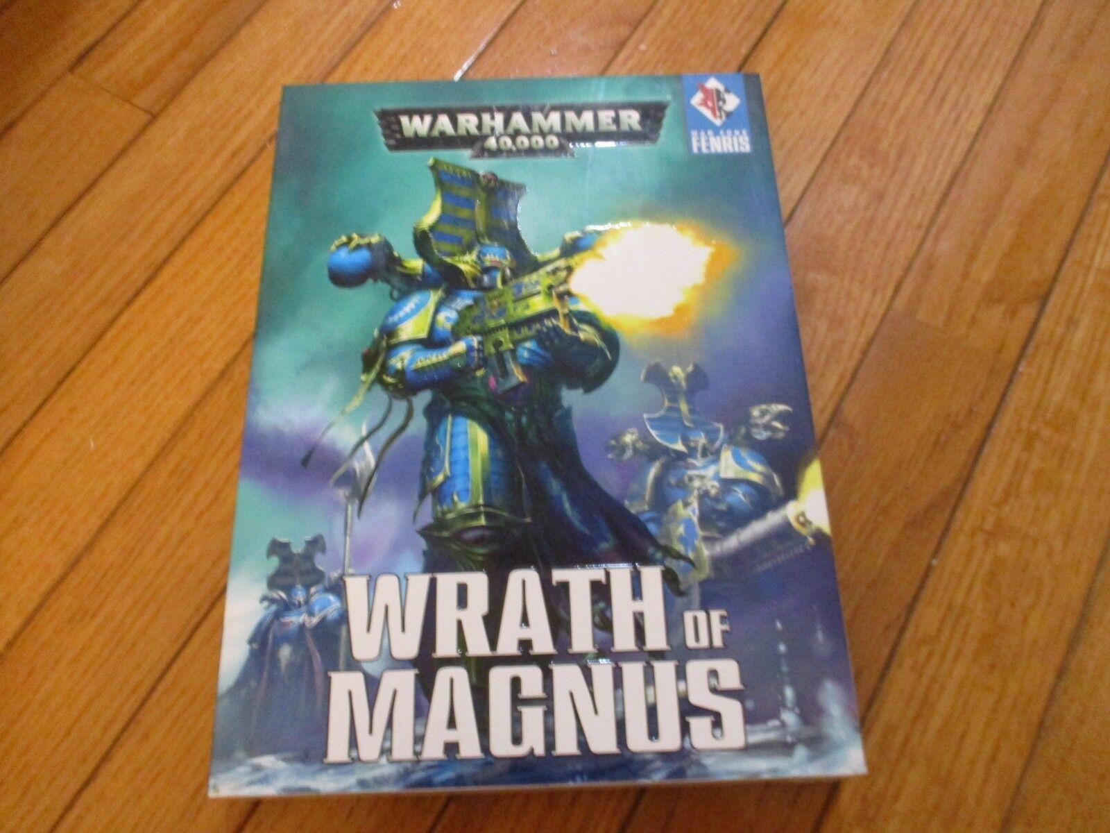 Warhammer 40K War Zone Fenris Wrath of Magnus  scatola 2 libro Set  servizio onesto