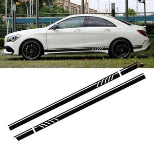 2x-220cm-AUTO-CAR-Corsa-Pagine-Adesivi-Strisce-Strisce-Decorative-Adesivo