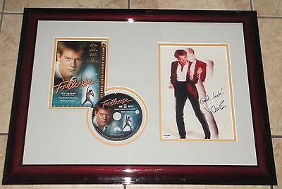 """Lovely Kevin Bacon Rare Signed & Framed 8 X 10 """"footloose"""" Photo Psa/dna!! Online Shop"""