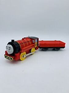 Thomas & Friends Trackmaster Motorized Train Victor Engine W/ Red Flatbed