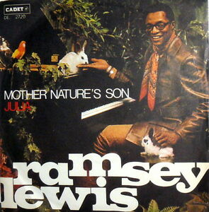 RAMSEY-LEWIS-THE-BEATLES-7-034-ITALY-039-69-JULIA-MOTHER-NATURE-039-S-SON