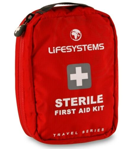 Lifesystems Sterile Traveller First Aid Kit Compact Worldwide Medical 1010