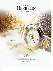 Publicité Advertising 108  2002    montre Newport  Royale   par Michel Herbelin