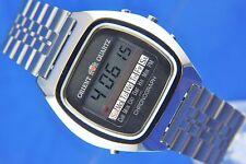VINTAGE CON ORIENT presto Digitale LCD Orologio Cronografo 1976 NOS NEW OLD STOCK