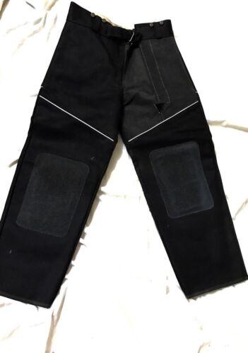 Target Shooting Trouser Made Of Canvas & Seude Amara.