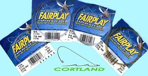 Cortland-Fairplay-Tapered-Knotless-Monofilament-Leader-Select-size-amp-length