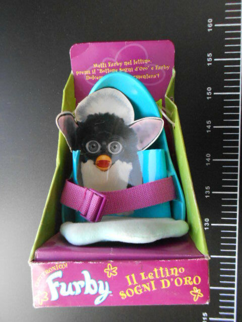 RETRO FURBY SLEEPY TIME BED Lettino Sogni D'Gold Gig Tiger