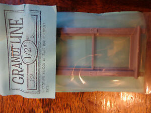 Grandt Line G #3923 Victorian Window w/Flat Box Pedtmet