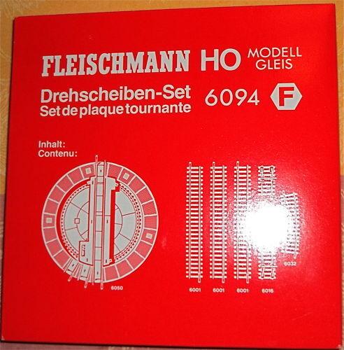 Piattaforme girevoli set Fleischmann 6094 h0 1:87 NUOVO OVP hf1 µ *