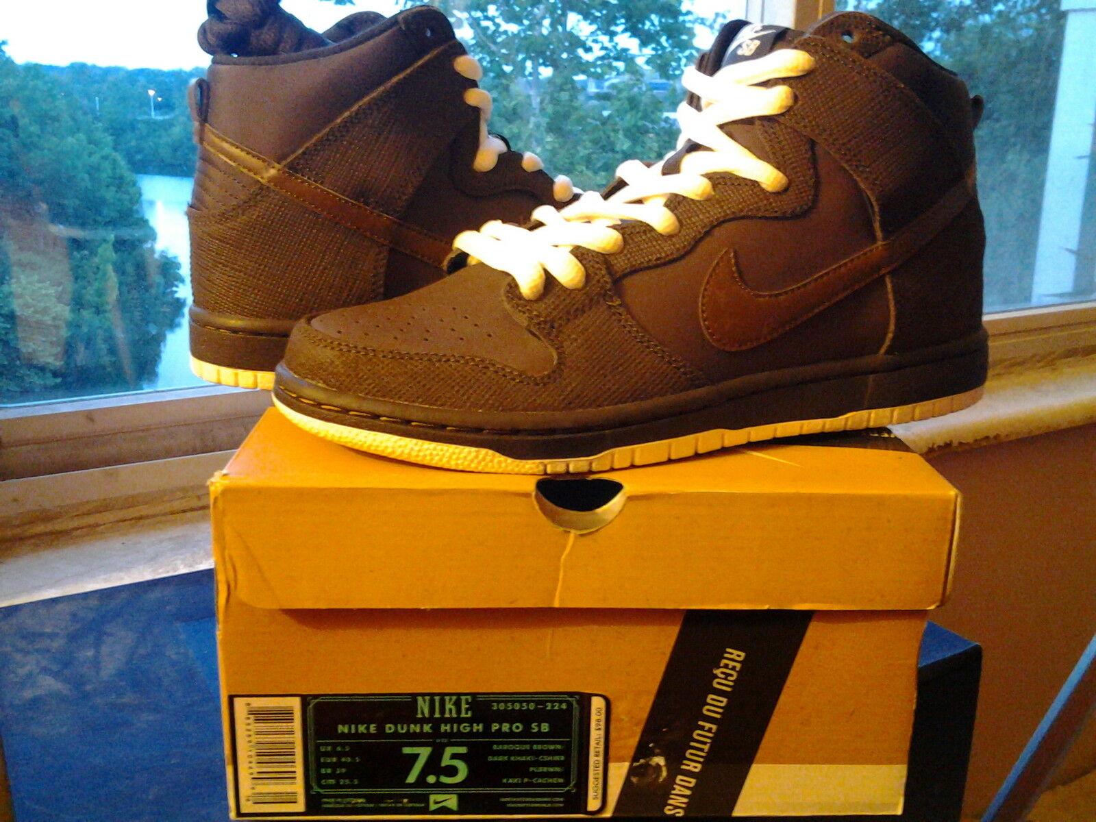 Comfortable and good-looking Nike Dunk High Pro SB Baroque Brown Dark Khaki Cashmir low mid force 305050 224