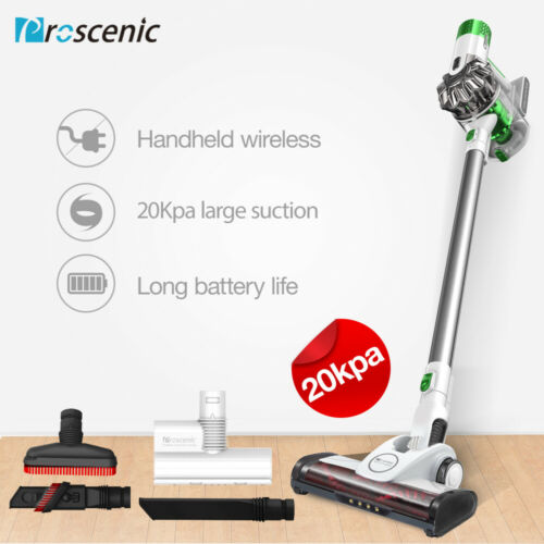 Proscenic P9-2020 Cordless Vacuum Cleaner Lightweight Hand 120AW Animal Hoover
