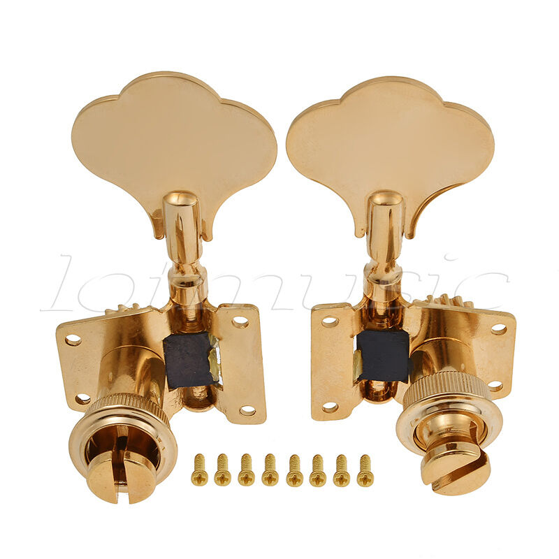 4 5 string bass guitar tuners tuning pegs keys machine heads open back gear gold ebay. Black Bedroom Furniture Sets. Home Design Ideas