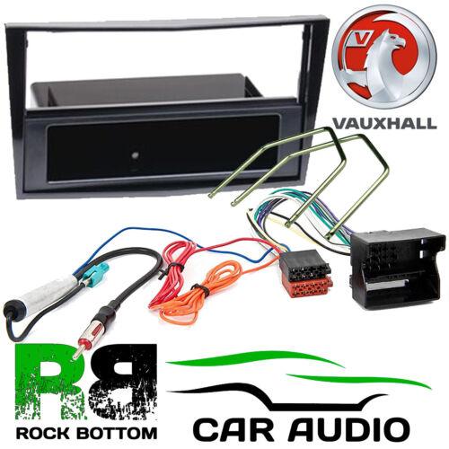 VAUXHALL Corsa D 2006-14 Auto Stereo Radio Quadlock Pianoforte Black Panel Kit Fascia