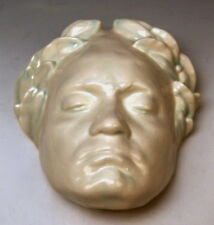 GOLDSCHEIDER WIEN ANLITZ DES LUDWIG VAN BEETHOVEN WALL MASK MNR: 2285  UM 1936
