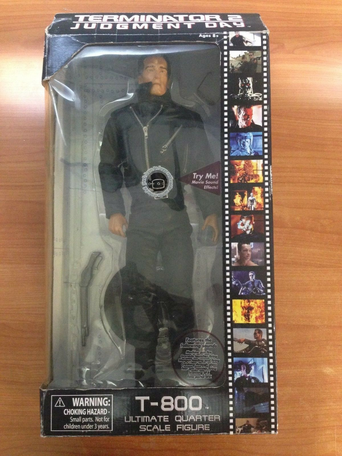 2009 Terminator 2 Judgement Day Ultimate 1 4 Scale Action Figure - T-800