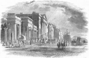 Vente Pas Cher London. Apsley House, Hyde Park Corner, Antique Print, 1852