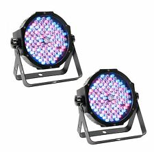 (2) American DJ Mega Par Profile Plus Bright LED Par Can Wash DJ Effect Lights