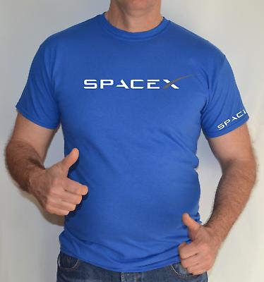 T SHIRT SPACEX,SPACE X SPACE AGENCY ELON MUSK,TESLA,FALCON,NASA
