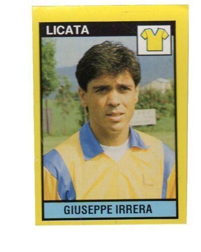 LC12 FIGURINA CALCIATORI VALLARDI GRANDE CALCIO 1988//89 LICATA IRRERA
