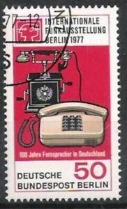 Berlin Nº 549 Exposition Internationale 1977, Estampillé-g 1977, Gestempeltfr-fr Afficher Le Titre D'origine ArôMe Parfumé