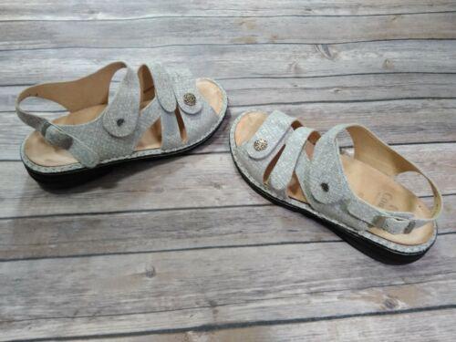 Finn Comfort Sandals Women 38 D Gray