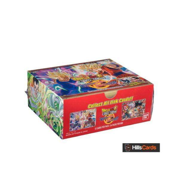 Bandai BCLDBBO1046 Dragon Ball Super CG: Themed Booster World Martial Arts To...