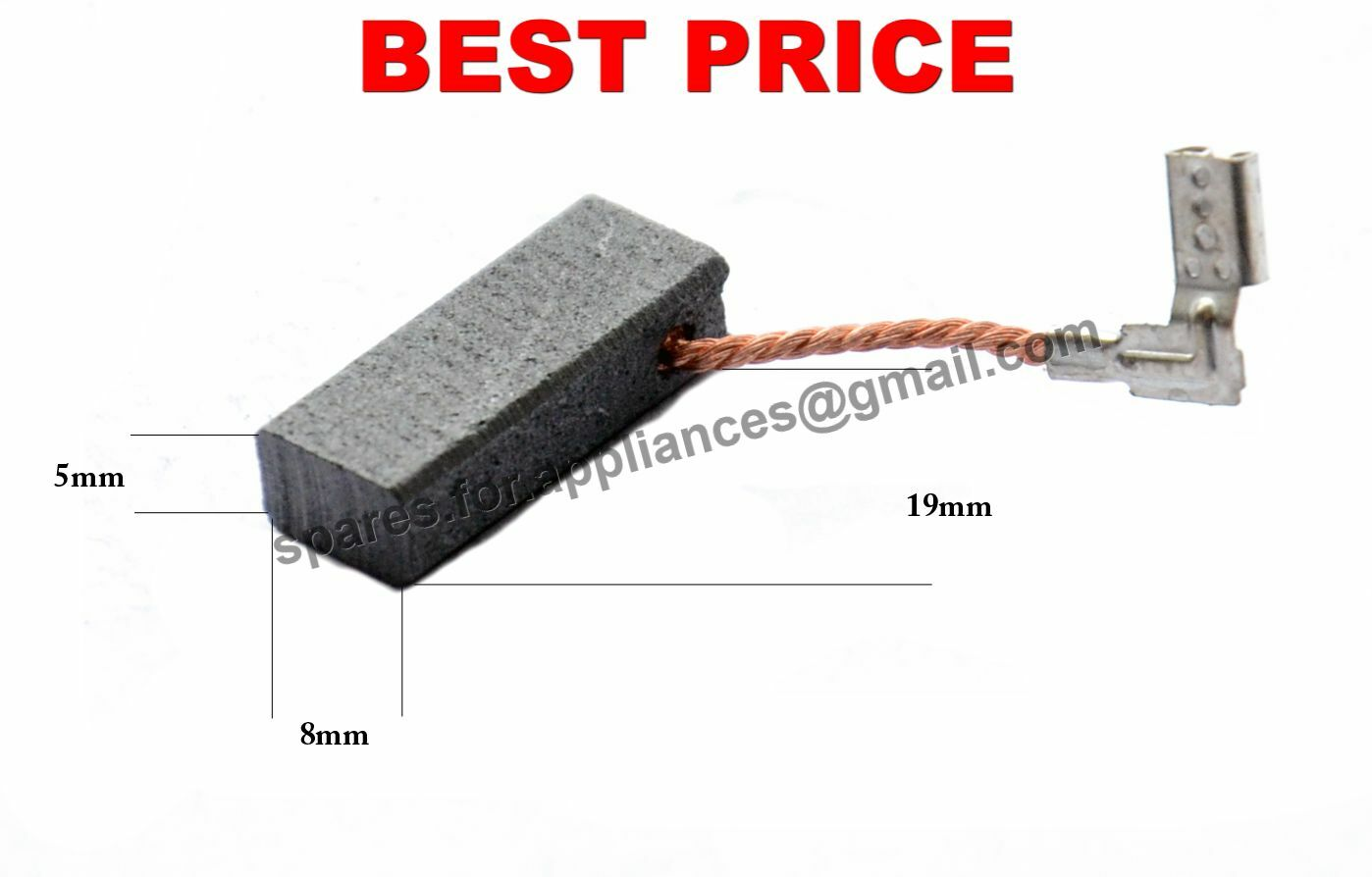 Carbon Brush 1617000525  for Bosch GBH 3-28 DFR 3-28 DRE SPIT 332 Rotary Hammer