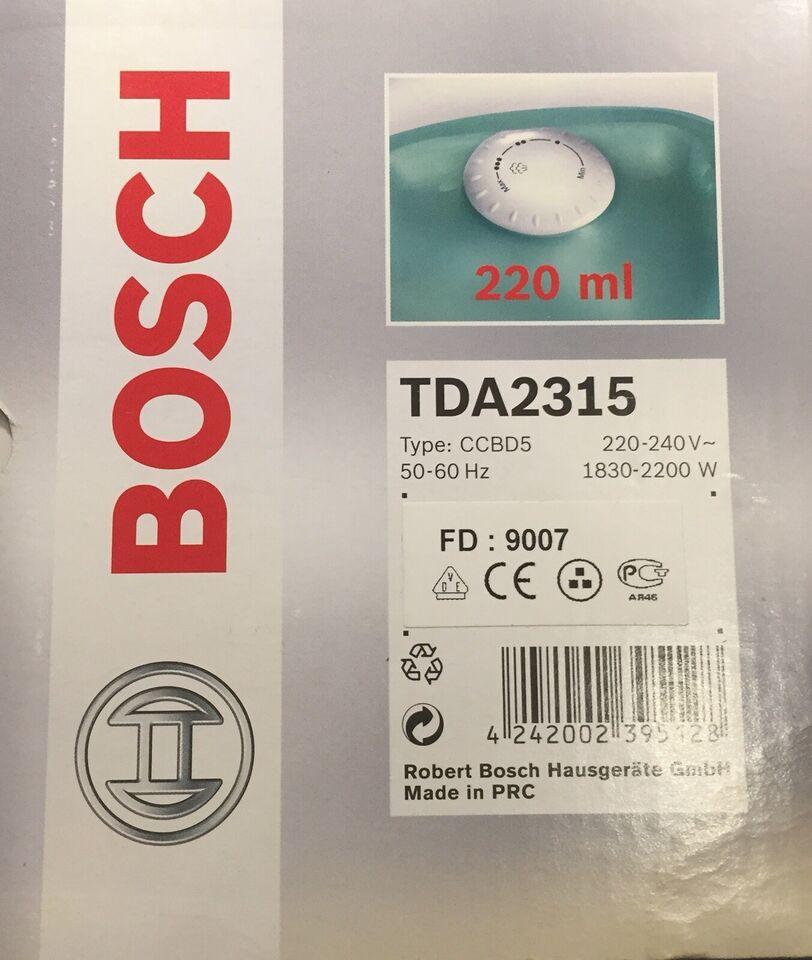 Strygejern, Bosch Inox 1800W - FD9007