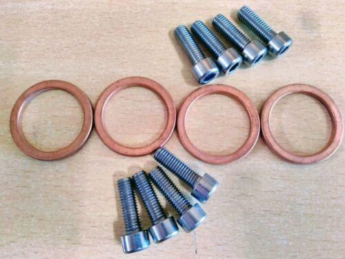 EXHAUST GASKETS for SUZUKI GSF600 BANDIT Set of 4
