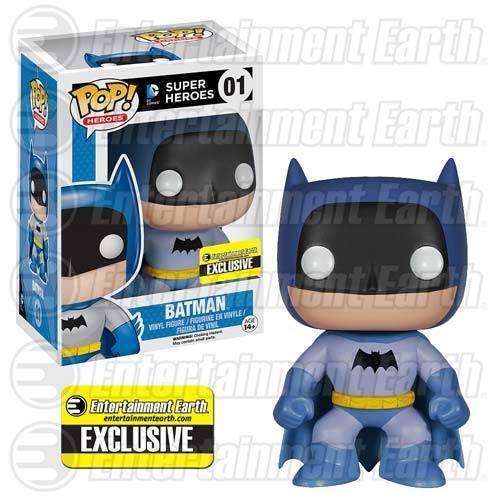 FUNKO POP SUPER HEROES DC COMICS  01 BATMAN 75th ANNIVERSARY RAINBOW Blau
