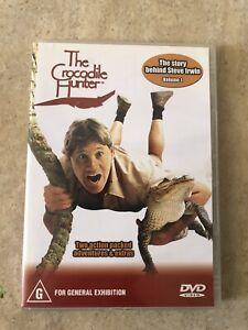 THE-CROCODILE-HUNTER-VOLUME-1-THE-STORY-BEHIND-STEVE-IRWIN-DVD-R4-AUS-RELEASE