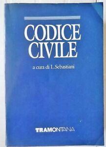 CODICE-CIVILE-a-cura-di-L-SEBASTIANI-TRAMONTANA-1989-con-la-COSTITUZIONE