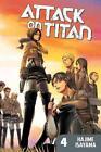 Attack on Titan: Volume 04 von Hajime Isayama (2013, Taschenbuch)