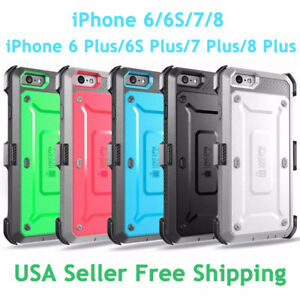 brand new 8b4b2 9a7d8 SUPCASE For iPhone 6/6S/7/8/8 Plus Unicorn Beetle Pro Fully Rugged ...