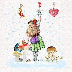 "Alice In Wonderland hearts Fabric Cushion 16 x 16/"" Upholstery Craft Panel"