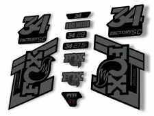 FOX 36 Float 2018-19 Forks Suspension Factory Decals Stickers Adhesive White