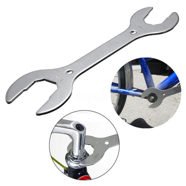 Bicycle Headset Wrench Cycle/Bike Spanner Double Ended Hand Tool 30/32/36/40mm Sport en vakantie Fietsen en wielersport