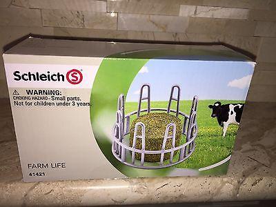 SCHLEICH WORLD OF NATURE FARM LIFE HAY FEEDER 41421