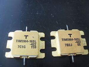 1X TIM5964-16SL RF TRANSISTOR,MICROWAVE POWER GaAs FET
