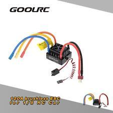 GoolRC 120A 2~6S LiPo Battery Sensored Brushless ESC for 1/8 RC Car F2I6