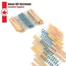 300pcs 30 Values 14w 1 Metal Film Resistors Resistance Assortment Set 003