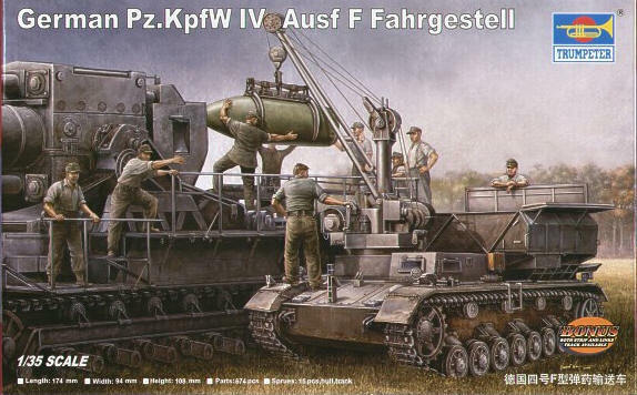 Trumpeter 1 35 Panzer IV Ausf. F Fahrgestell