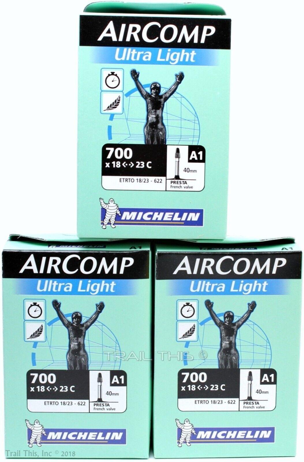 2pc XLC Ultra Lite 700 x 18// 23C 60mm Presta Valve road bicycle bike inner tube