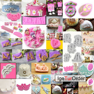 3D-Silicone-Cake-Fondant-Mold-Chocolate-Pastry-Baking-Mould-Decor-Sugarcraft-DIY