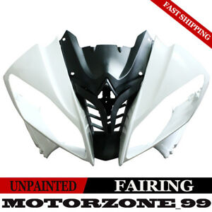 Unpainted-Front-Upper-Cowl-Fairing-Nose-Kit-For-Yamaha-YZF-R6-2008-2016-08-16-US
