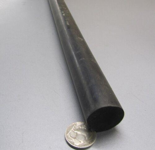 "Neoprene Rod x 36/"" Length Black 1.0/"" Dia 75A"