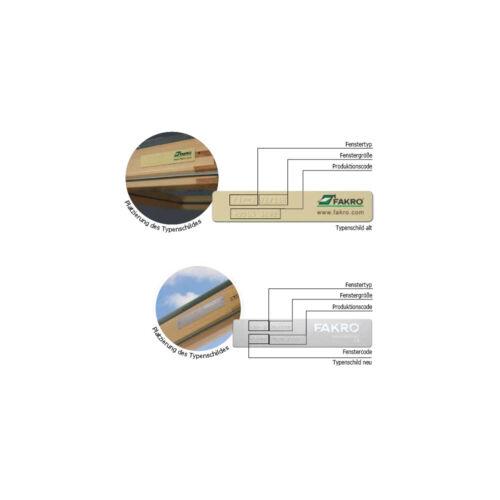 Dachfensterrollo Verdunkelung für Fakro Dachfenster FTP//PTP//FPP hellgelb-creme