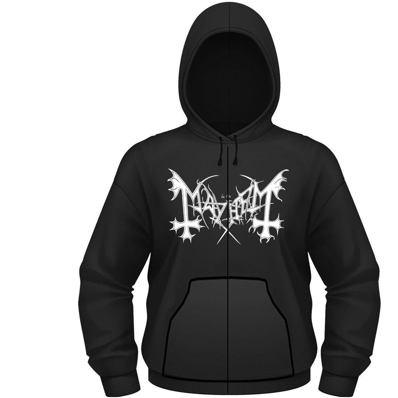Mayhem 'De Mysteriis Dom Sathanas' Zip Hoodie - NEW hoody hooded sweatshirt